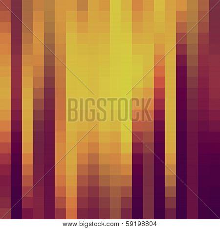 creative retro square pattern background vector