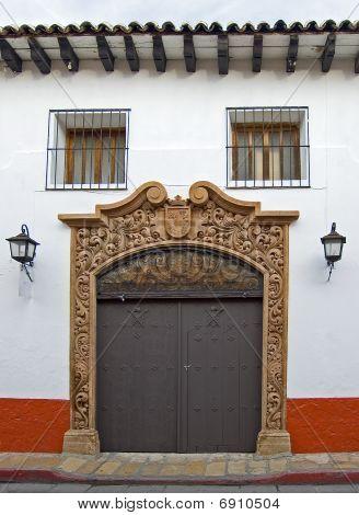 San Cristobal House Entrance