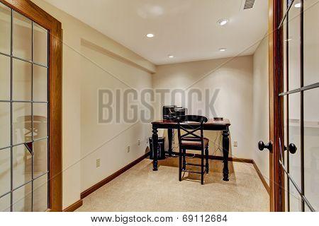 Small Office Room Interior