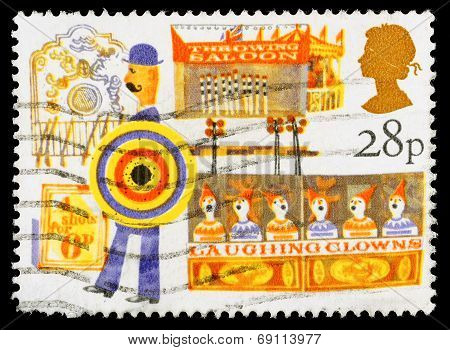 British Fairs Postage Stamp