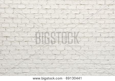 White Brick Wall Stock