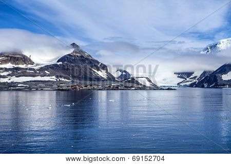 Antarctica Research Base Station