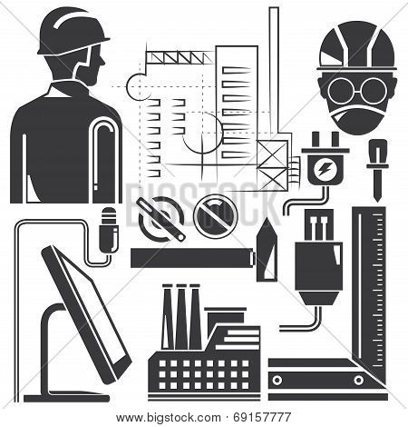 tools, engineering set, manufacturing