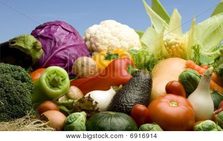 Vegetables Variety Outdoors
