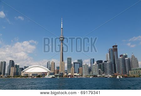 Toronto Skyline During The Day
