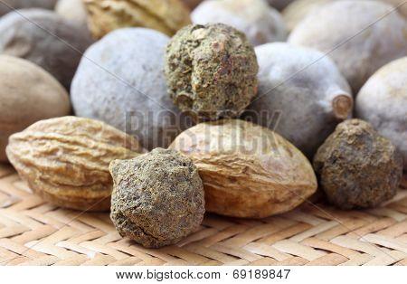 Triphala, A Combination Of Ayurvedic Fruits