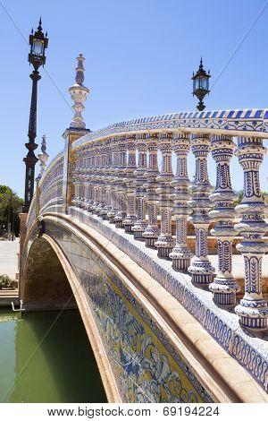Spain Square Bridge Detail