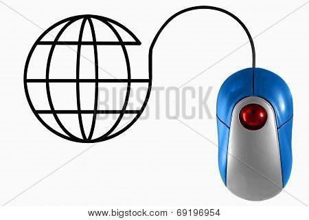 Computer Mouse Environmental Concept