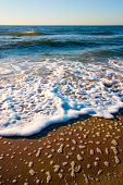 Waves, beach poster
