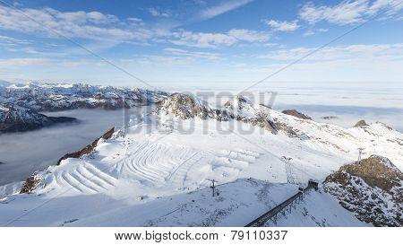 Snow Ski Slope