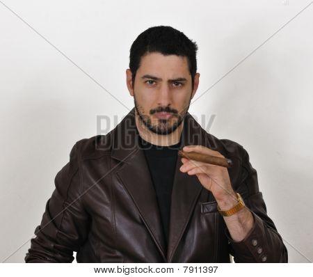 Handsome gangster