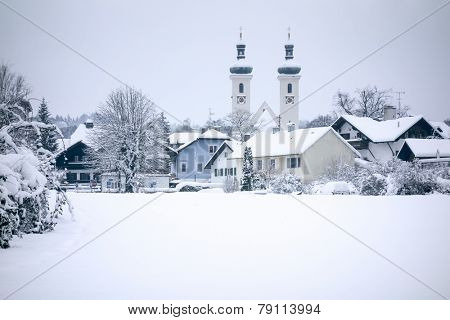 An image of the church in Tutzing Bavaria Germany