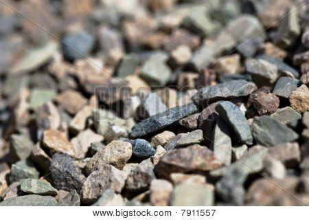 Pebbles Shallow Depth Of Field