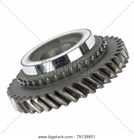 Worn Cog Wheel