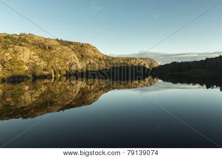 Landscape in Bergen, Norway