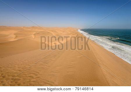 Coastline In The Namib Desert Near Sandwich Harbour, Namibia