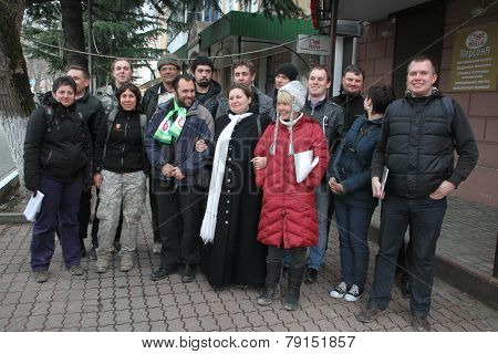 Ecologists from Ecological watch across the North Caucasus