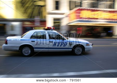 nypd in motion