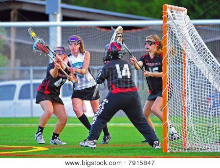 Girls Varsity Lacrosse Semi Fianls Game