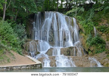 Waterfall Lucky In Slovakia