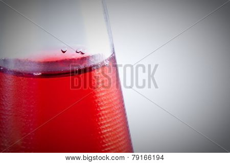 Red Drink In The Bootle