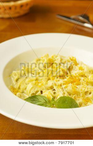 Italian cheese pasta