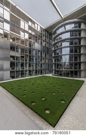 Paul Loebe Haus  Parliamentary Office Building In Berlin