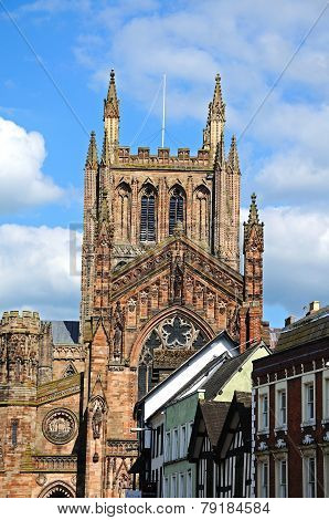 Hereford Cathedral.