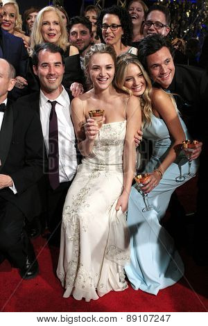BURBANK - APR 26: The Young and the Restless, Hunter King, Melissa Ordway at the 42nd Daytime Emmy Awards Gala at Warner Bros. Studio on April 26, 2015 in Burbank, California