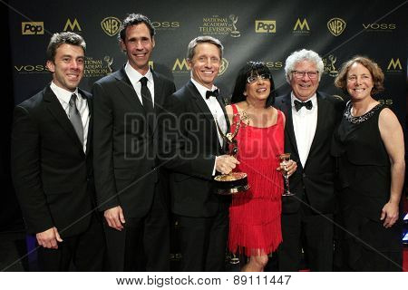 BURBANK - APR 26: Brad Bell, The Bold and the Beautiful at the 42nd Daytime Emmy Awards Gala at Warner Bros. Studio on April 26, 2015 in Burbank, California