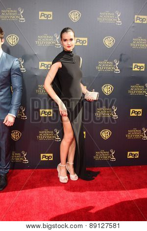 LOS ANGELES - APR 26:  True O'Brien at the 2015 Daytime Emmy Awards at the Warner Brothers Studio Lot on April 26, 2015 in Burbank, CA