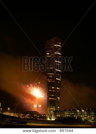 Turning Torso Fireworks