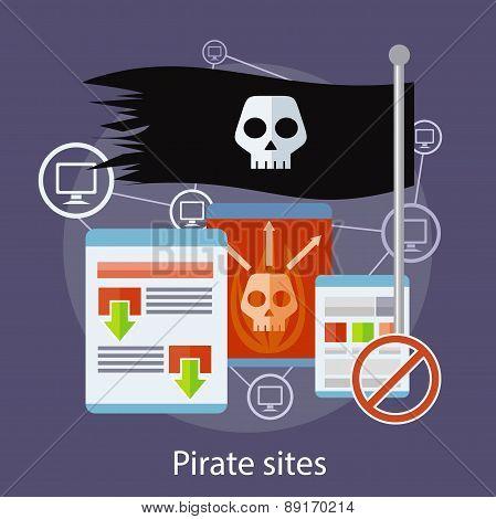 Pirate Sites Concept