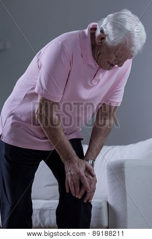 Man With Osteoarthritis