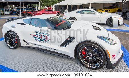 2015 Chevrolet Corvette Z06, Indianapolis Pace Car, Woodward Dream Cruise, MI