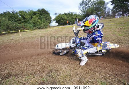 Motocross in Sariego.