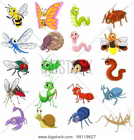 Set_of_funny_insects_cartoon_character_flat_design_by_ridjam.eps