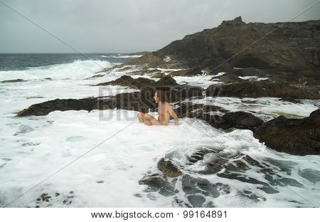 Gran Canaria, Banaderos Area, Rock Pools