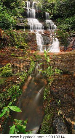 Multi tier waterfall