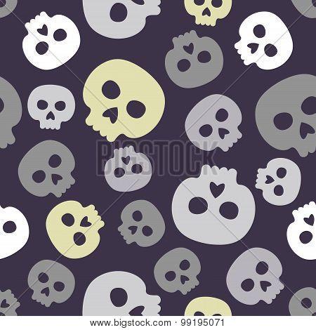 Seamless Skulls