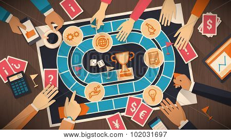 Business And Competition Board Game