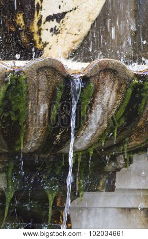 Old Fountain Gushing