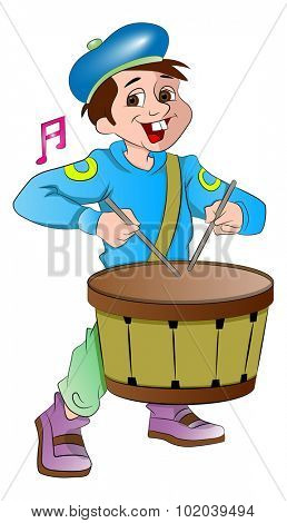 Little Drummer Boy, vector illustration