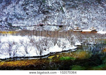 Winter Huang Long, Sichuan