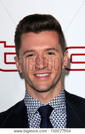 LOS ANGELES - SEP 17:  Travis Wall at the Audi Celebrates Emmys Week 2015 at the Cecconi's on September 17, 2015 in West Hollywood, CA