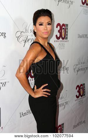 LOS ANGELES - SEP 17:  Eva Longoria at the Padres Contra El Cancer's 15th Annual