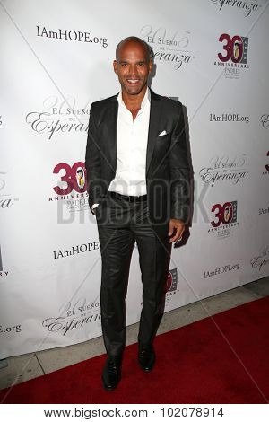 LOS ANGELES - SEP 17:  Amaury Nolasco at the Padres Contra El Cancer's 15th Annual