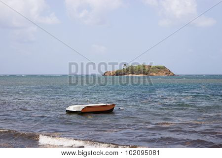 A lonesome boat