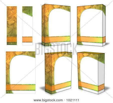 Box Shot Template Kit #02