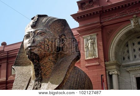 The Museum of Egyptian Antiquities, known commonly as the Egyptian Museum or Museum of Cairo, in Cairo, Egypt, is home to an extensive collection of ancient Egyptian antiquities.